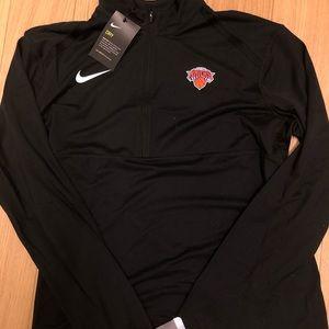 Knicks Nike Quarter Zip
